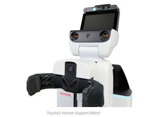 丰田研发HRS机器人 未来或将用于老年人护理工作