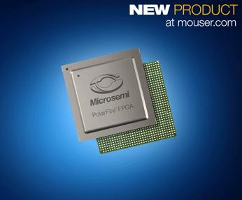 更低功耗,Microsemi PolarFire FPGA 贸泽电子开售