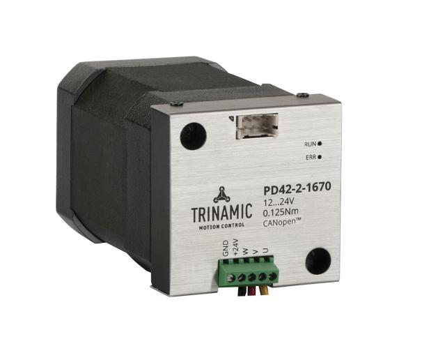 Trinamic推出全新系列闭环智能BLDC电机,定位更高效