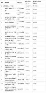 国家存储器基地/华星光电T4/武汉新芯12英寸线等项目入列