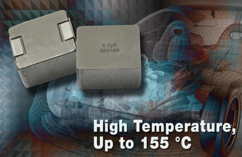 Vishay推出5050外形尺寸器件扩展其汽车级薄形、大电流电感器