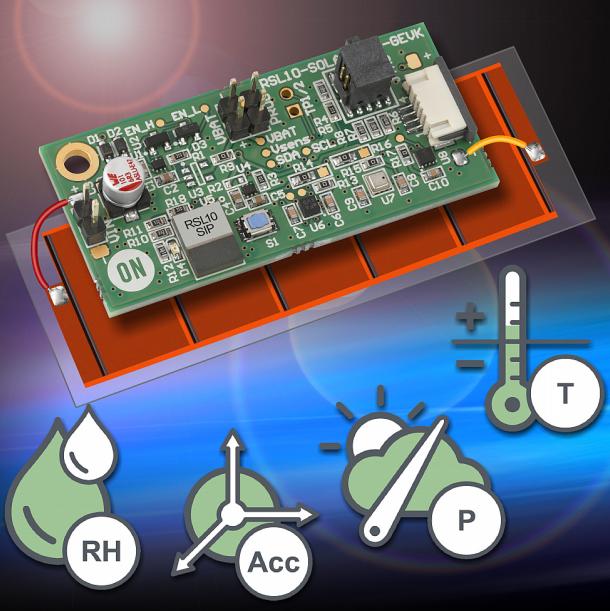安森美蓝牙低功耗多传感器平台—让免电池IoT成为现实