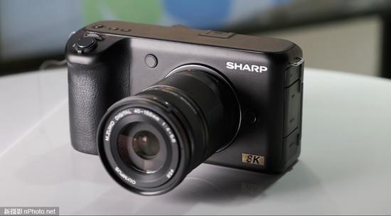 8K来了!夏普8K视频相机上手体验