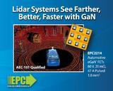 车规级80 V EPC2214 eGaN®FET 使得激光雷达系统看得更清晰