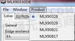 压力接口芯片MLX90328 DBA版本校准方法