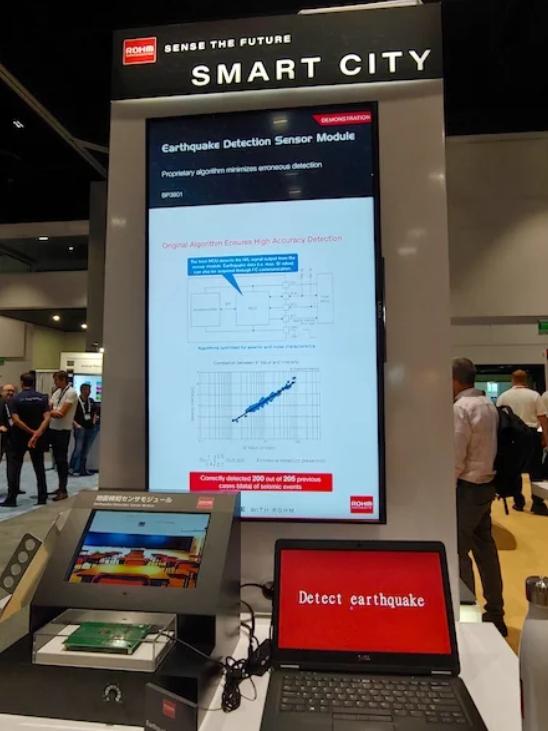 罗姆推出地震监测传感器模块,亮点不是硬件而是算法