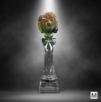 贸泽电子荣获Yageo Corporation颁发的年度客户增长大奖