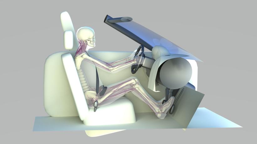 西门子新Simcenter Madymo模拟汽车碰撞对人体的影响 促进自动驾驶研发