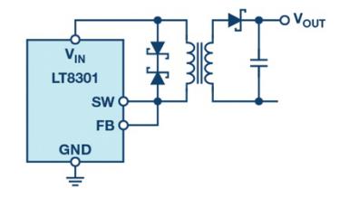 技术文章:无需光耦合器的反激式转换器现有解决方案