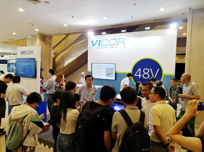 闪耀ODCC——Vicor展示其最新 48V 电源模块创新技术