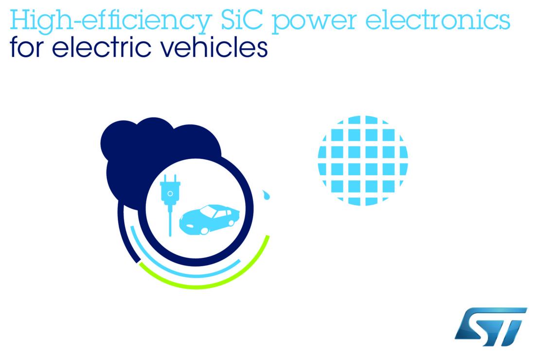 ST先进碳化硅功率电子器件 助力电动汽车快充技术发展