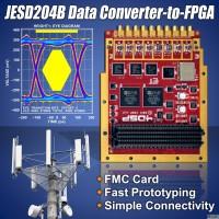 FPGA夹层卡简化高速数据转换器到FPGA的连接