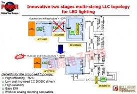 大功率LED驱动电源创新架构大幅降低成本