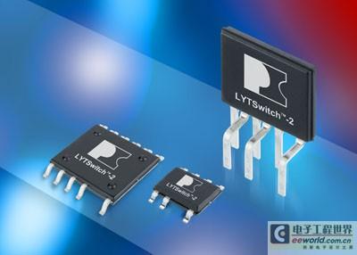 Power Integrations推出LYTSwitch-2系列隔离式LED驱动器IC