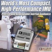 ADI 推出业界最紧凑的MEMS惯性测量单元