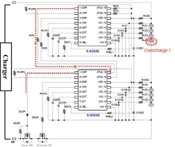 多节锂离子电池的充放电保护(图)