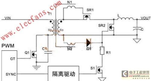 同步整流技术dc dc模块电源