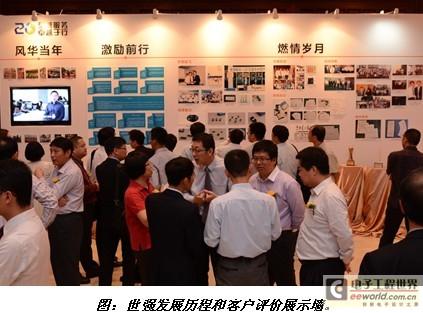 """世强二十周年庆典在深隆重举行,确立""""改变""""发展战略"""