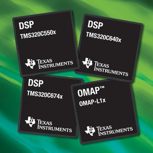德仪新推出业界最低功耗的定点与浮点DSP