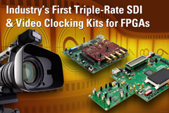 可支持Altera与Xilinx的3G-SDI开发套件