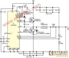构成高效大功率-5V电源的降压型开关转换器IC