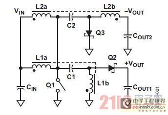 图1. SEPIC-C'uk转换器原理图