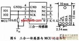三合一(温湿光)传感器设计