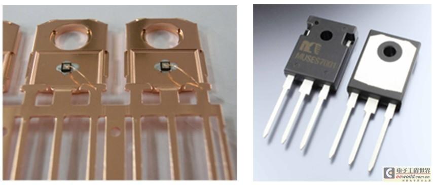NJR推出粗铜线丝焊类型的音频SiC-SBD
