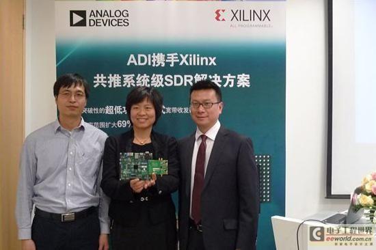 珠联璧合 ADI携手Xilinx推突破性SDR方案