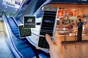 ST与LG电子在LG 的KU380手机上整合NFC