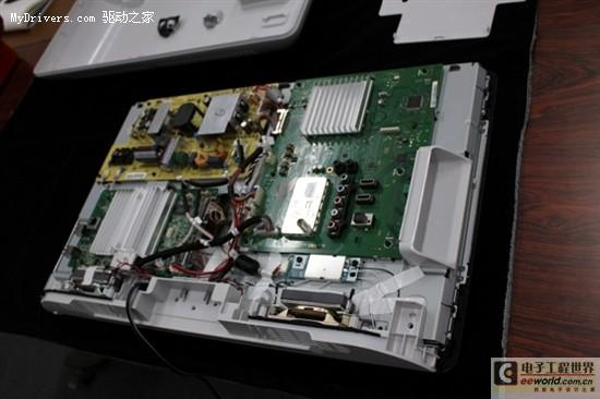 全球首款Google TV电视拆解