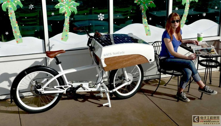SunCycle太阳能电动车:谁能比我更环保