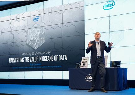 英特尔通过内存和存储创新 加速以数据为中心的技术发展