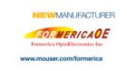 贸泽电子与Formerica签署全球分销协议