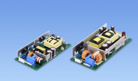 科索公司发布低外形开放式框架认证工业用电源
