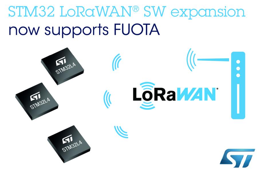 STM32Cube生态系统新增LoRaWAN®固件无线更新支持