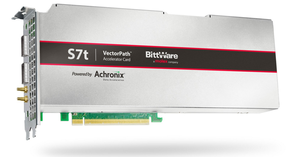 BittWare 联手Achronix推出7nm Speedster7t PCIe 加速卡