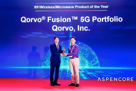 Qorvo® RF Fusion™ 5G产品组合荣获2019年WEAA年度产品奖