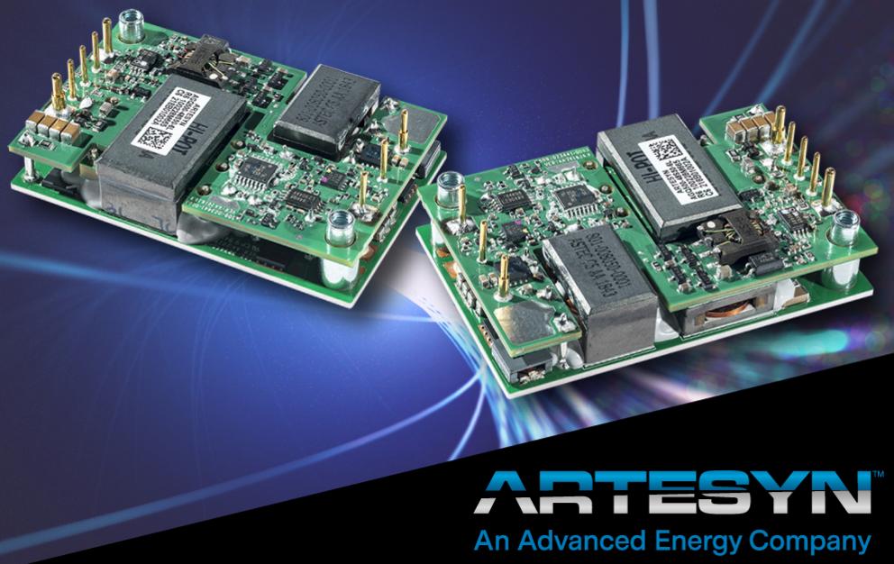 雅特生科技推出新款可支持 GaN的DC-DC电源转换器模块