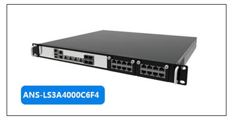 銨泰克推出多網口網絡安全平臺,采用龍芯3A4000+龍芯7A1000