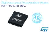 ST全新0.25°C精度温度传感器让监测设备节能方式更灵活