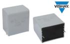 Vishay推出新系列汽車級交流和脈沖金屬化聚丙烯薄膜電容器