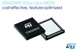 ST经济型超值系列MCU新增STM32WB无线微控制器