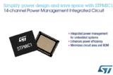ST推出高集成度电源管理IC,可节省电路板空间