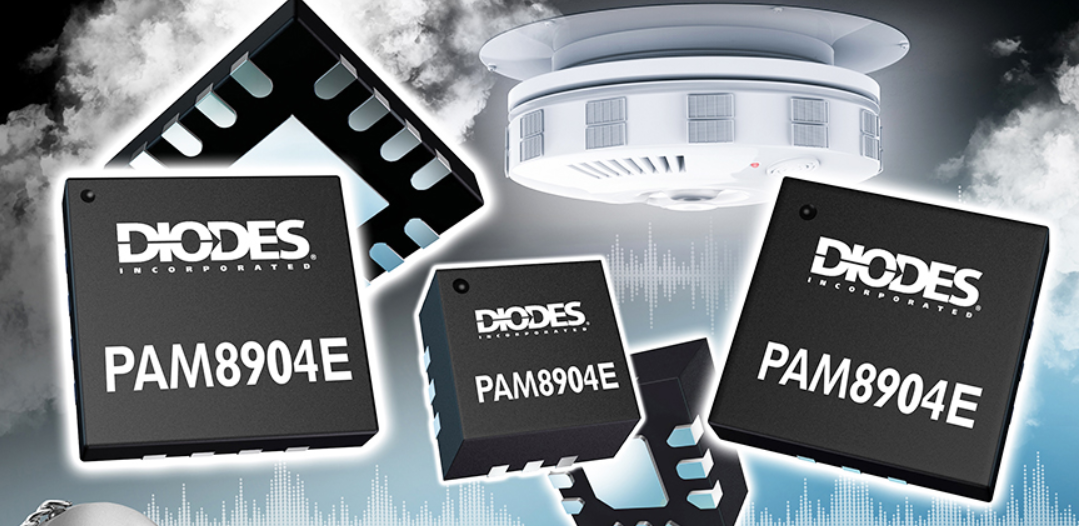 Diodes推出热门发声器驱动器增强版,在低电压下提供高性能