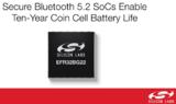 Silicon Labs蓝牙5.2 SoC可让纽扣电池活十年