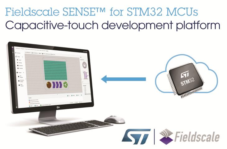ST联手Fieldscale为基于STM32的智能设备带来简单直观的触控体验