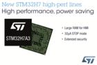 融性能、集成度和能效于一身,STM32H7系列问市