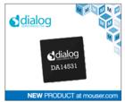 Dialog超小型SmartBond TINY SoC贸泽开售