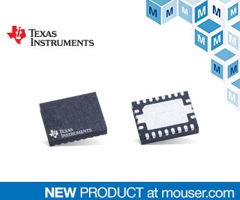 适用于汽车的TI TCAN4550系统基础芯片贸泽开售